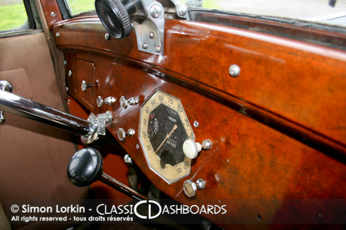 Classic Dashboards France - Restauration tableau de bord Renault Monaquatre